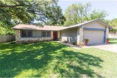Austin Single Family Home For Sale: 12324 Danny Dr