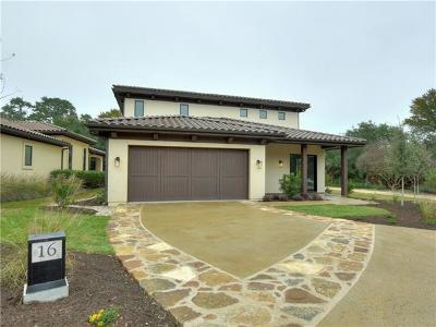 Austin Single Family Home Pending - Taking Backups: 4501 Spanish Oaks Club Blvd #16