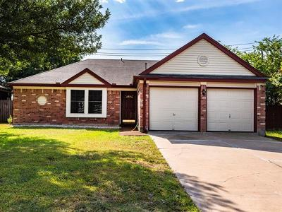 Austin Single Family Home For Sale: 12501 Fallen Tower Ln