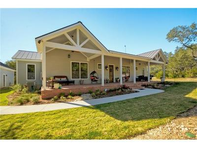 Wimberley TX Single Family Home For Sale: $618,500