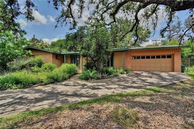 Austin Single Family Home Pending - Taking Backups: 3502 Hillbrook Cir