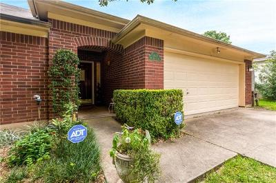 Travis County Single Family Home Pending - Taking Backups: 5417 Meg Brauer Way