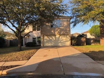 Round Rock Single Family Home For Sale: 1006 Howell Terrace Pl