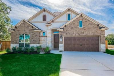 Round Rock Single Family Home For Sale: 3733 Kearney Ln