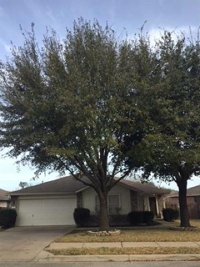 Round Rock Single Family Home Pending - Taking Backups: 2327 Vernell Way