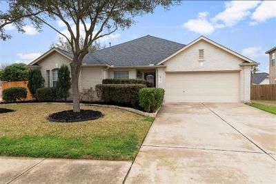 Cedar Park Single Family Home Pending - Taking Backups: 2306 Romeo Dr
