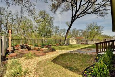 Round Rock Single Family Home For Sale: 608 Trailside Bnd