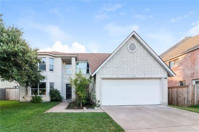 Cedar Park Single Family Home For Sale: 2111 Zeppelin Dr