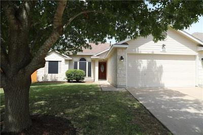 Hutto Single Family Home For Sale: 105 Willowbrook Dr