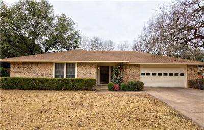 Georgetown Single Family Home Pending - Taking Backups: 1806 Westwood Ln