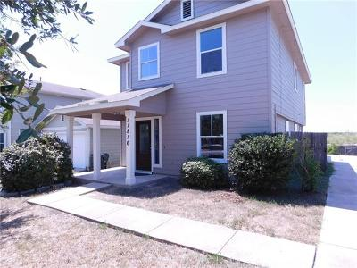 Manor Single Family Home For Sale: 11816 Lima Dr