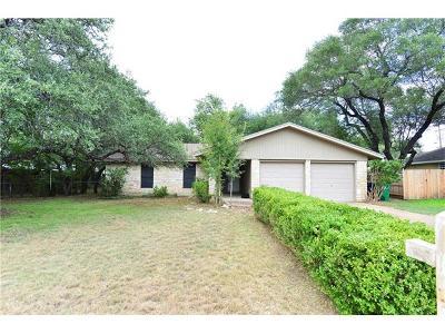 Cedar Park Single Family Home Pending - Taking Backups: 2306 Versailles Dr