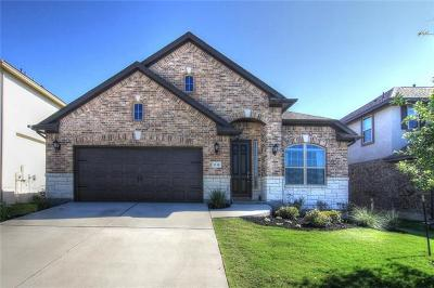 Leander Single Family Home For Sale: 1832 Ficuzza Way