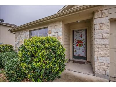 Hutto Single Family Home For Sale: 503 Saul St