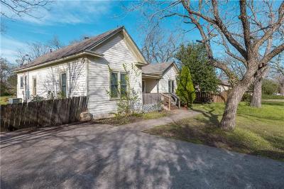 Kyle Single Family Home Pending - Taking Backups: 900 W Blanco St