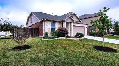 Leander Single Family Home For Sale: 1233 Gaviota Ln