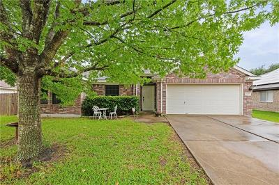 Round Rock Single Family Home For Sale: 3105 Spruce Cv