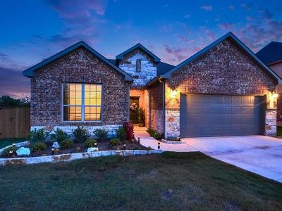Round Rock Single Family Home For Sale: 3307 De Soto Loop