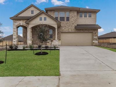 Hutto Single Family Home For Sale: 536 Tanda Ln