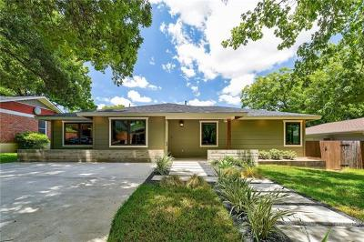 Austin Single Family Home For Sale: 2704 W 49th St