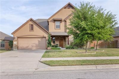 Pflugerville Single Family Home For Sale: 19413 Brent Knoll Dr