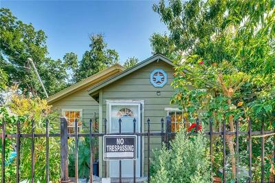 Austin Single Family Home Pending - Taking Backups: 2209 Santa Rita St