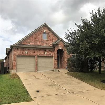 Hutto Single Family Home For Sale: 405 Wiltshire Dr