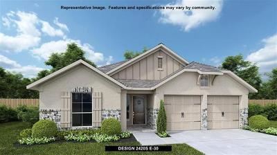 Manor Single Family Home Pending: 11700 Emerald Springs Ln