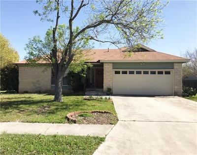 Leander Single Family Home For Sale: 2702 Tumlinson Fort Dr