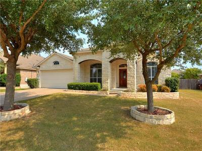 Round Rock Single Family Home For Sale: 2420 Butler Way