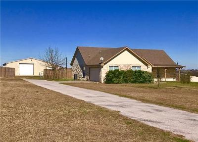 Jarrell Single Family Home For Sale: 109 Stone Water Ln