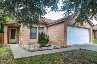 Round Rock Single Family Home For Sale: 3336 Perch Trl