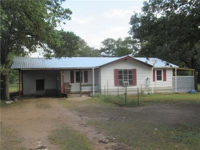 Bastrop County Single Family Home For Sale: 160 Stolle Ln
