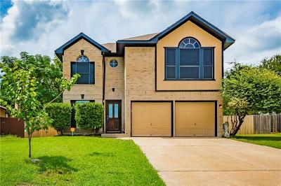 Round Rock Single Family Home For Sale: 1517 Ashwood Ct