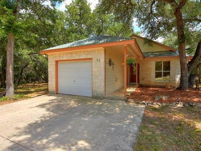 Wimberley Single Family Home Pending - Taking Backups: 53 Wood Glen Dr