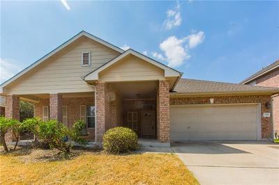 Manor Single Family Home For Sale: 11516 Shady Meadow Way
