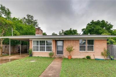 Austin Single Family Home For Sale: 306 E Wonsley Dr