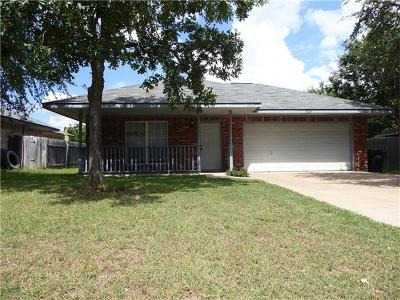Leander Single Family Home For Sale: 424 Bentwood Dr