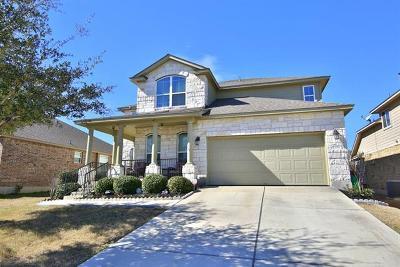 Round Rock Single Family Home Pending - Taking Backups: 213 Nick Faldo Trl