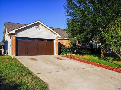 Hutto Single Family Home For Sale: 103 Harvest Ln