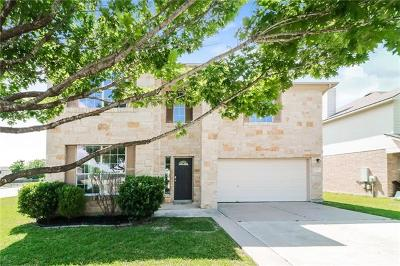 Hutto Single Family Home For Sale: 101 Gainer Dr