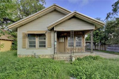 Austin Single Family Home For Sale: 1706 E 14th St