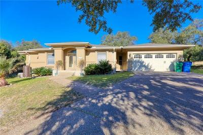 Lago Vista Single Family Home For Sale: 2504 Fillmore Cv
