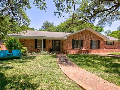 Austin Single Family Home Pending - Taking Backups: 4100 Tablerock Dr