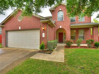 Pflugerville Single Family Home For Sale: 20609 Bellerive Dr