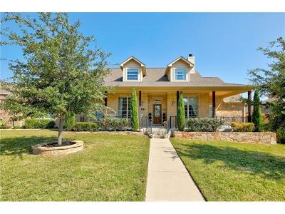 Round Rock Single Family Home For Sale: 4011 Harvey Penick Dr