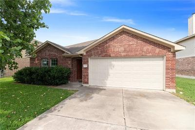 Hutto Single Family Home Pending - Taking Backups: 233 Kerley Dr