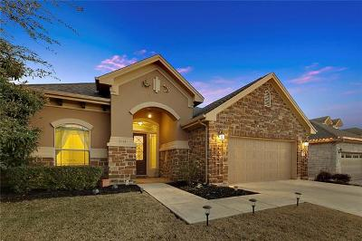 Cedar Park Single Family Home For Sale: 3112 Caballo Ranch Blvd