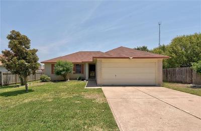 Cedar Park Single Family Home For Sale: 2201 Corbin Way