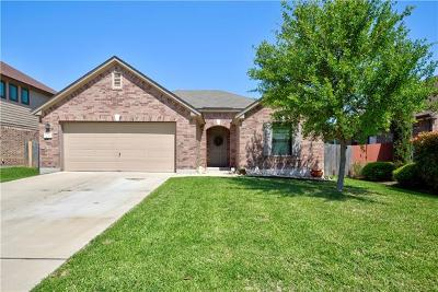Leander Single Family Home For Sale: 2011 Woodway Dr